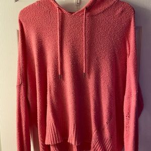 Two American Eagle soft knit hoodies